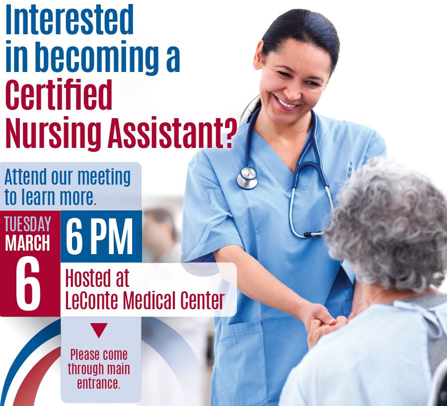 Cna Interest Meeting Leconte Medical Center Covenant Health