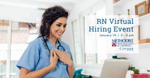 RN Virtual Hiring Event on Jan 14